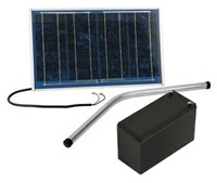 Solar Power Gate